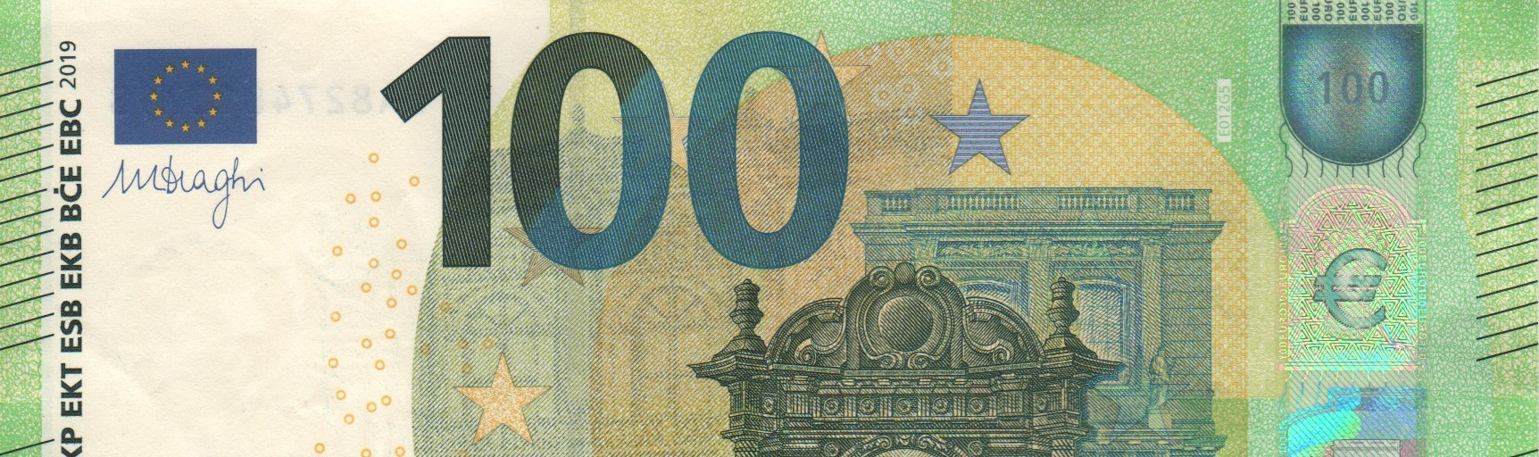 100 E E 012 Draghi Collection EUROPE