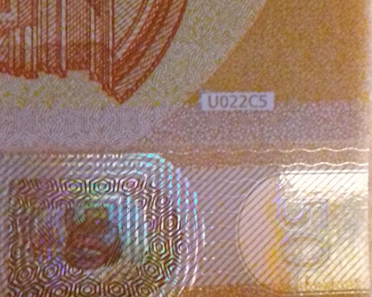 50 U U 022 Draghi Collection EUROPE
