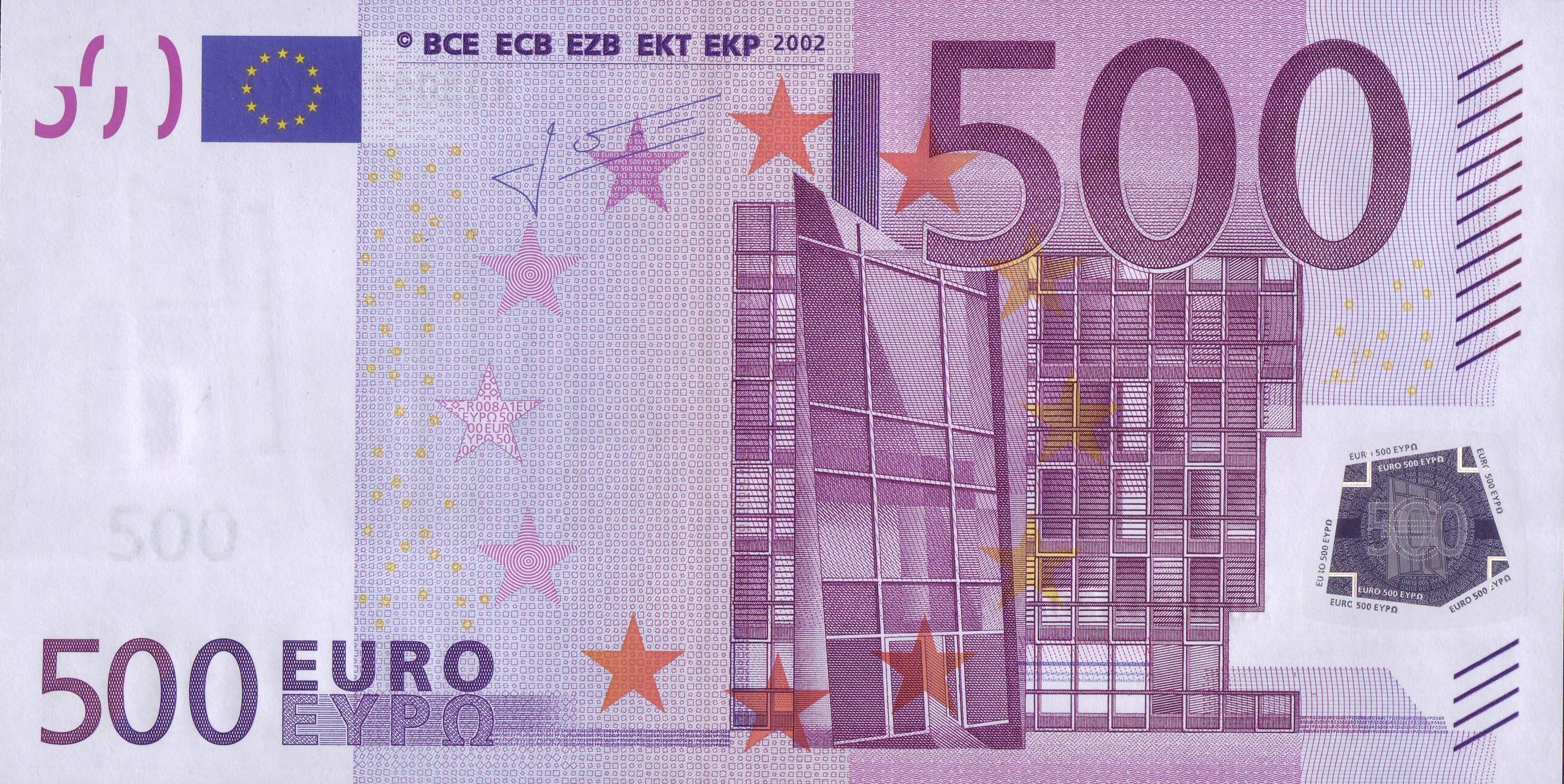 Comment découvrir un billet Euro de la série 2002
