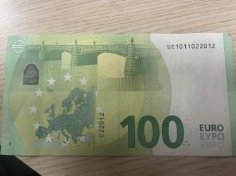 100 U U 002 F3 Draghi -  (10/10 - UNC - NEUF)